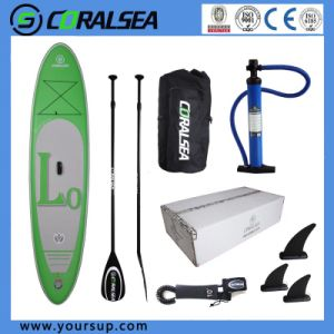 "PVC/PVC Material/EVA/EVA Material/PVC Drop Stitch Sup Pad for Sale (LV10′6 "") pictures & photos"