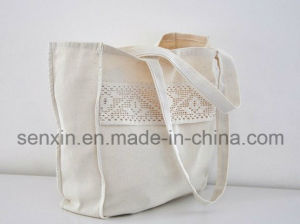 Global Organic Cotton Drawstring Backpack Bag pictures & photos
