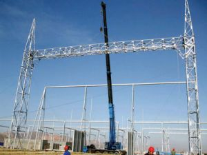 750kv High Voltage Substation Structure pictures & photos
