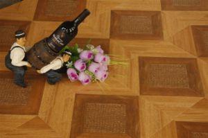 Parquet Style Laminate Flooring (411) pictures & photos
