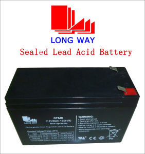 12V7ah/20hr Rechargeable Children Cars SLA Sealed Lead Acid Battery pictures & photos