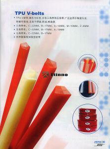 PU V Belt Made of Thermoplastic Polyurethane