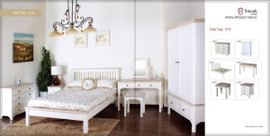 318range White Solid Pine Bedroom Furniture Sets