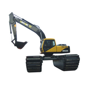 Floating Excavator (0.8m3 Bucket Capacity) (SWEA220) pictures & photos