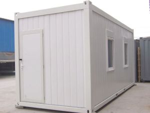 Toilet Container House in Building Site pictures & photos