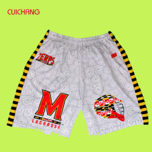 New Design Custom Made 100% Polyester Dry Fit Breathable Material Shorts pictures & photos