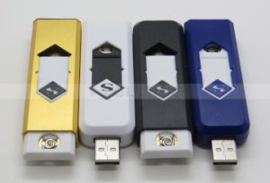 OEM Windproof Intelligent USB Rechargeable Cigarette Lighter pictures & photos