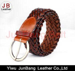 Latest Fashion Women Bonded Leather Braid Belt pictures & photos