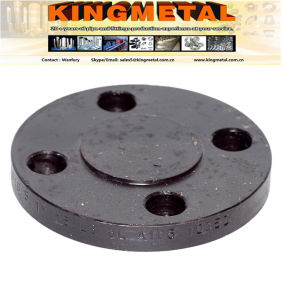 DIN (2573/2527/2632) Rst37.2 Pn25 Carbon Steel Plate Flange pictures & photos