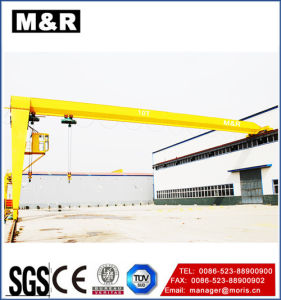 Hot Selling Half Portal-Type Gantry Crane of High Quality pictures & photos