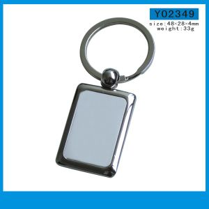 High Quality Promotioanl Gifts Metal Key Chains with Custom Logo pictures & photos