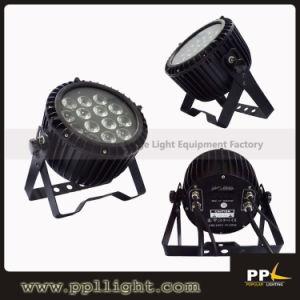 Waterproof 14*15W RGBWA IP65 Slim LED PAR 64 pictures & photos
