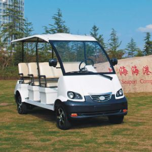 Electric Shuttle Bus 8 Seats with CE Certificate Dn-8 pictures & photos