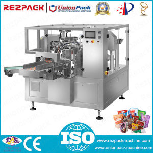 Manufacture Spout Bag Weighing Filling Sealing Packing Machine (RZ6/8-200/300A) pictures & photos