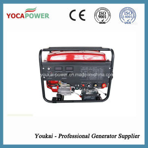 6.5kw Small Portable Gasoline Generator with Ce pictures & photos