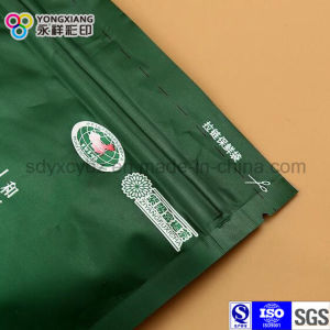 Aluminum Foil Stand up Zipper Plastic Packaging Bag Used on Green Tea pictures & photos