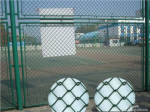 Stainless Steel Chain Link Fence Made in China pictures & photos