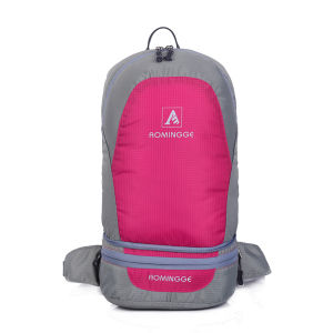 Wholesale Reflective Drawstring Sports Backpack pictures & photos