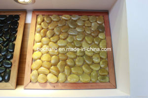 Polished Yellow Pebbles Stone for Paving Garden pictures & photos