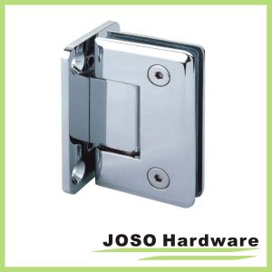 90 Degree Wall to Glass Bevel Fiilet Shower Hinge (BH3001) pictures & photos
