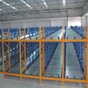 Warehouse Heavy-Duty Gravity Storage Rack pictures & photos