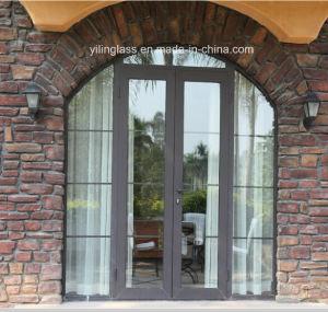 Double Glazed Aluminium Casement Door for Villa House pictures & photos