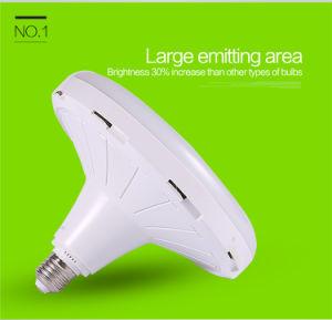Large Emitting Area High Brightness E27 UFO Flat LED Bulbs pictures & photos