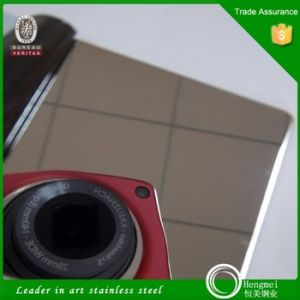 No. 8 Mirror Finish Decorative Stainless Steel Sheet with Factory Price pictures & photos