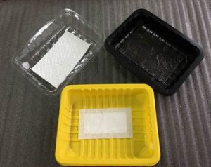 Disposable Polystyrene Foam Food Containers for Frozen Chicken Meat Packaging pictures & photos