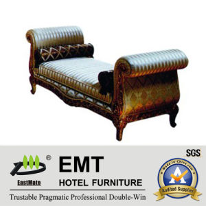 Luxurious Star Hotel Bedroom European Style Bed End Stool (EMT-BS06) pictures & photos