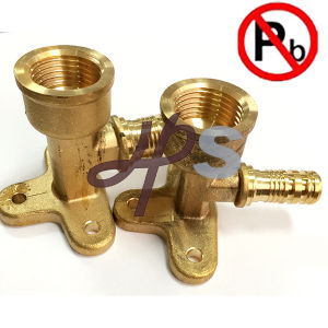 Low Lead Brass Pipe Coupling for Pex Pipe pictures & photos