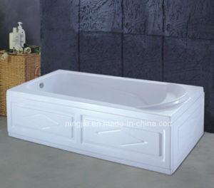 Rectangle Shape Freestanding Bathtub (404B) pictures & photos