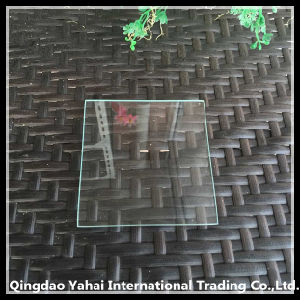 4mm C-Edge Clear Float Glass with Rough Grinding pictures & photos