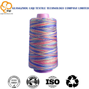 Colorful Yanr in 100% Spun Polyester Shirts Sewing Thread pictures & photos