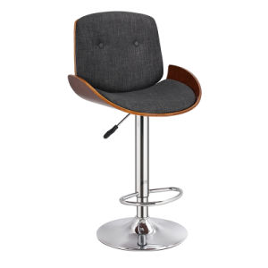Modern Wooden and Fabric Adjustable Bar Chair for Sale (FS-WB1965) pictures & photos