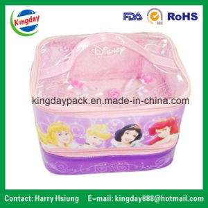 PVC Bags with Plastic Handle