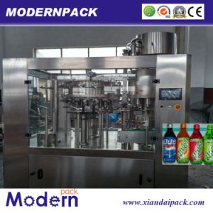 Triple Carbonated Beverage Filling Production Line/Drink Filling Machine pictures & photos