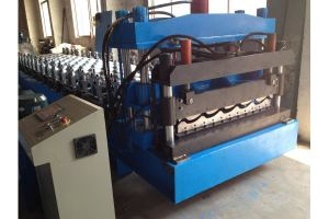 Glazed Tile Cold Roll Forming Machinery pictures & photos