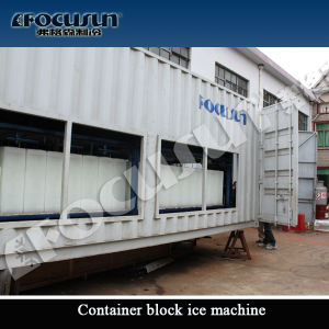 Focusun 10tons Containerized Block Ice Machine pictures & photos