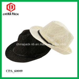Spring Fedora Hats with Leather Ribbon (CPA_60225) pictures & photos