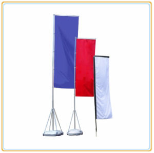 4m Promotion Flag Pole Display/Telescopic Banner pictures & photos