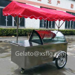 Baskin of Robbins Ice Cream Cart/Gelato Display Case pictures & photos