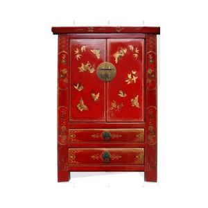 Antique Chinese Red Wedding Cabinet Lwb753 pictures & photos