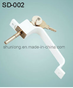 Aluminium Door/Window Handle with Keys Hardware Accessories (SD-002)