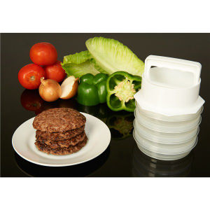10 Pece Hamburger Patty Maker Set