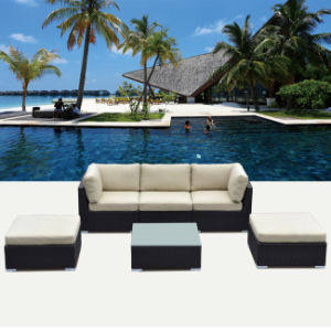 Rattan Sectional Sofa Set with All Color Cushion