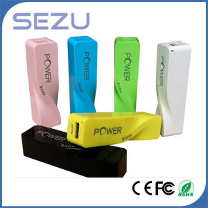 New Design External Power Bank, Lipstick Portable Charger 2600mAh pictures & photos