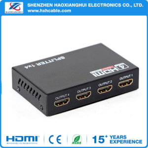 4 Port HDMI Splitter 4kx2k pictures & photos