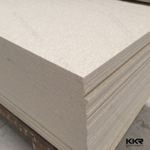 Beige Artificial Stone Modified Acrylic Solid Surface for Sale pictures & photos