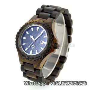 New Environmental Protection Japan Movement Wooden Fashion Watch Bg161 pictures & photos